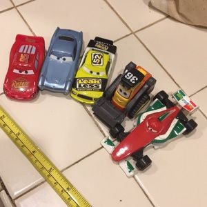 5 Disney Cars With plane and tractor